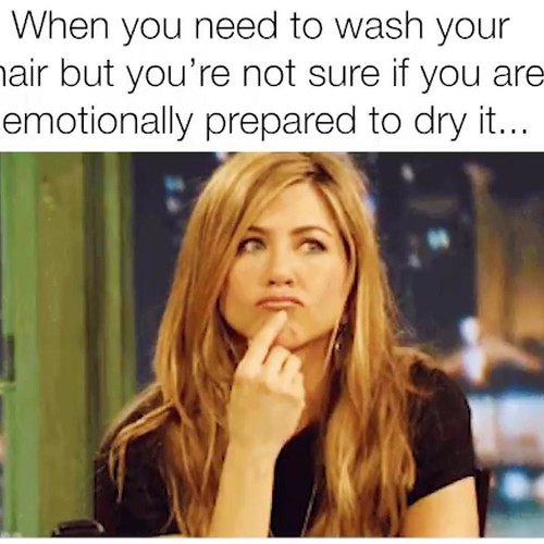 All too true! Book your #blowout with our new #Stylist Lauren! @laurenrriley welcome to the team Lauren!!