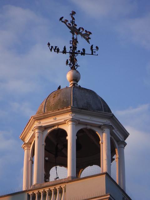 Top of Guildhall, Faversham
