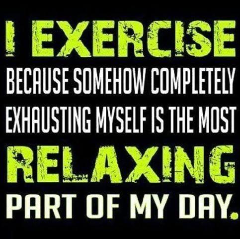 Exercie to Relax