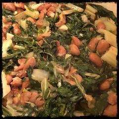 #SwissChard & #Beans #CucinaPovera #homemade #food #CucinaDelloZio -