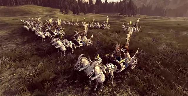 Total War Warhammer 2 - Tiranoe Chariot