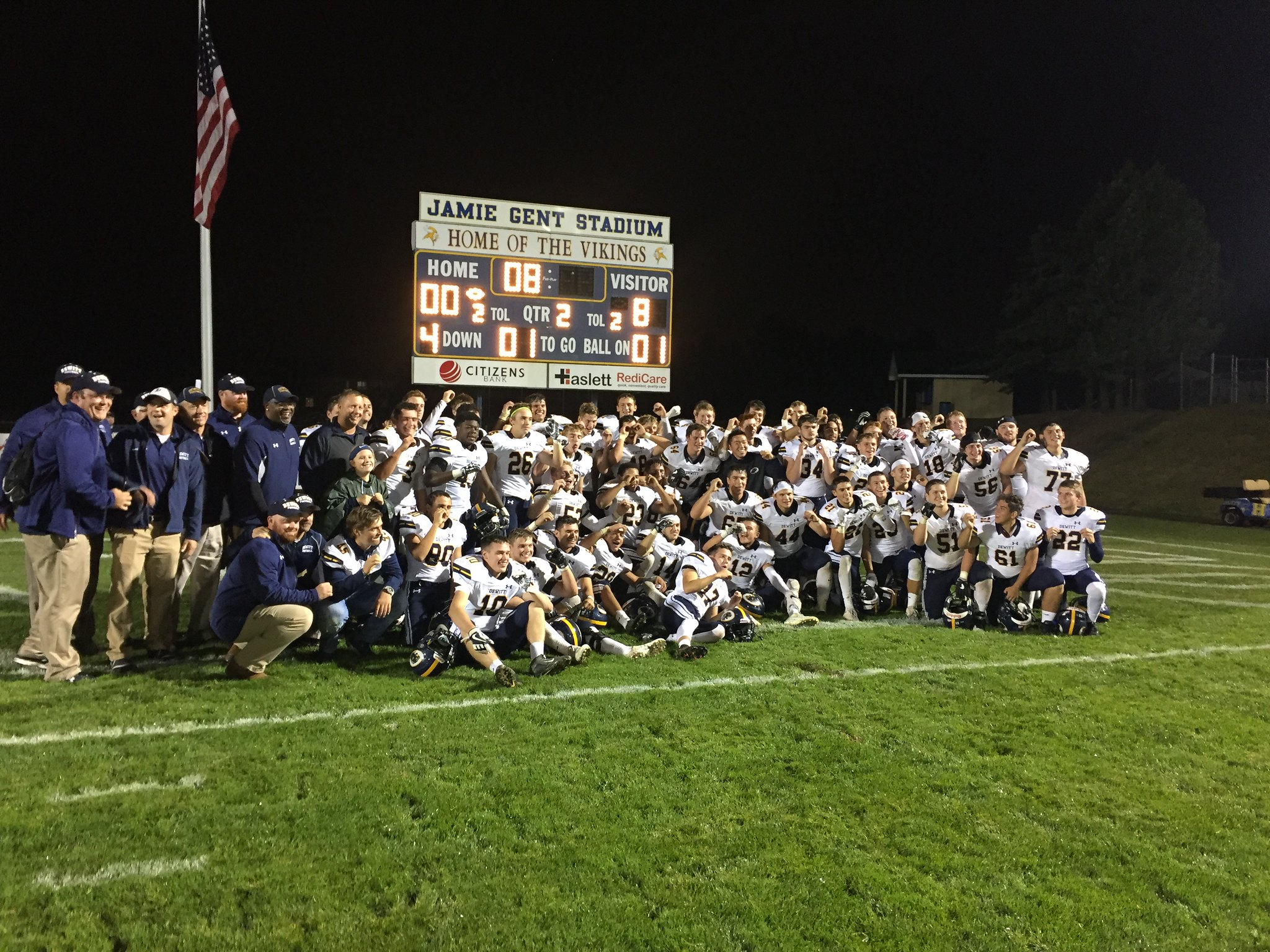 Dewitt Takes CAAC-Red Title