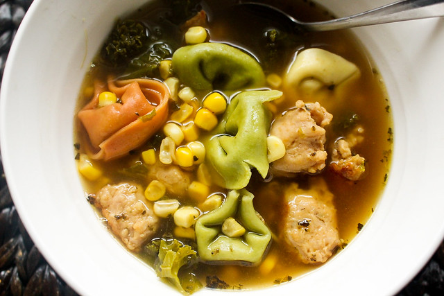 Healthier (kind of) Magic Soup Made In Instant Pot (but not necessary)