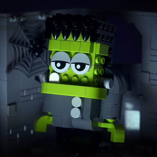 【狗神磚創Moc】科學怪人 X Frankenstein
