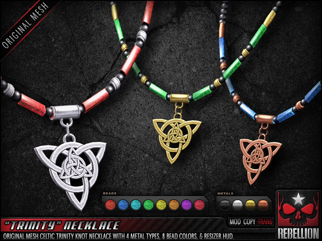 "= REBELLION = ""TRINITY"" NECKLACE"