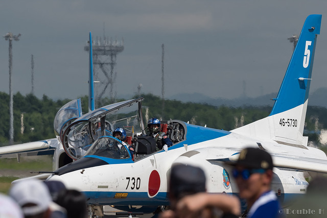 JASDF Chitose AB Airshow 2017 (131) Blue Impluse No.5