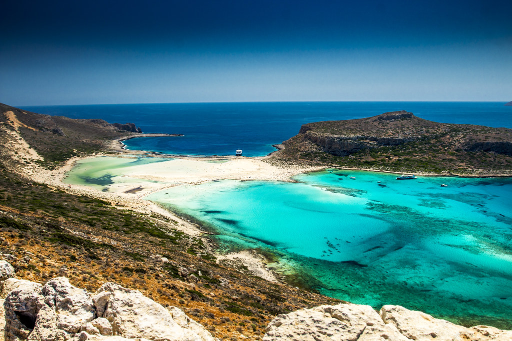 Balos Beach Panorama - Crete, Greece