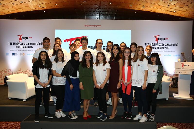 International Girl Child Day Conference, 2017, Turkey, #DKÇGK2017