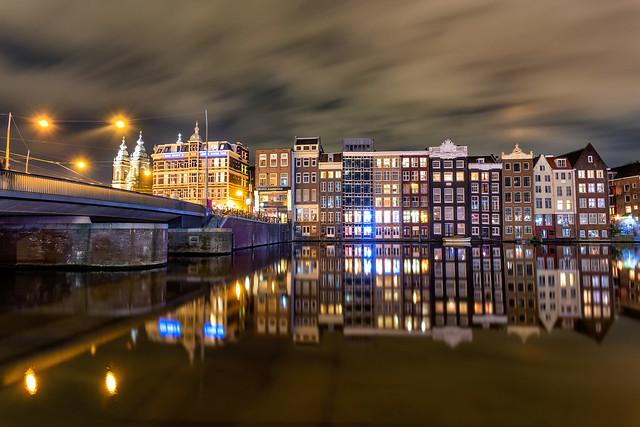 Amsterdan night