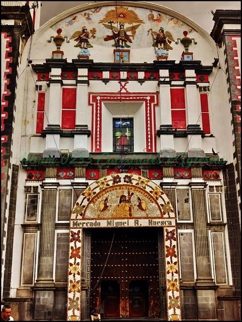Parroquia San Andrés Apóstol (Ciudad Serdán) Chalchicomula de Sesma,Estado de Puebla,México