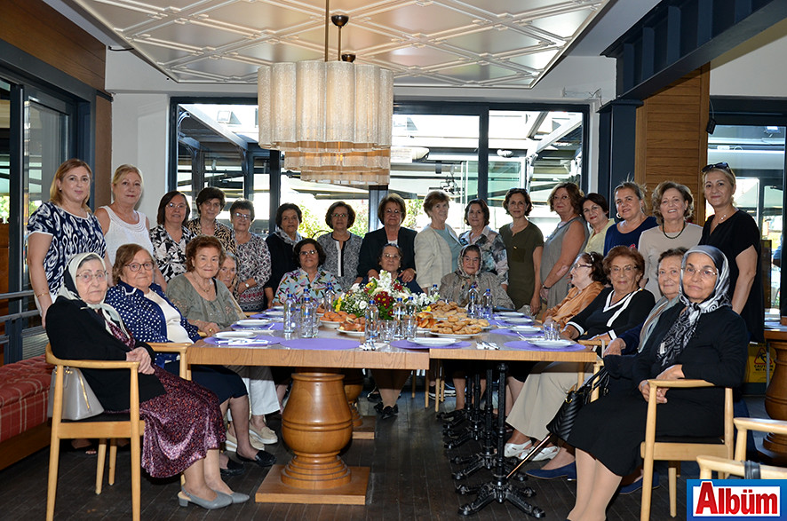 Alanya Kadınları Yardımlaşma Derneği 5 çayı etkinliği