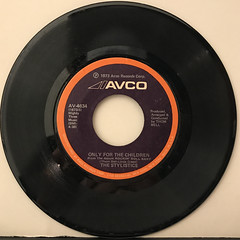 THE STYLISTICS:YOU MAKE ME FEEL BRAND NEW(RECORD SIDE-B)