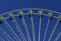Ferris wheel - big wheel - observation wheel - giant wheel