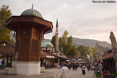 Sebilj Fountain, Baščaršija (Sarajevo)