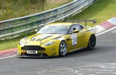 Aston Martin auf dem Nürburgring