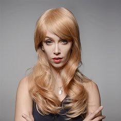 Curly Wave Side Bang Human Hair Wig Virgin Remy Mono Top Capless 8 Colors (1063434) #Banggood