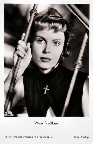 Wera Frydtberg in Sie (1954)