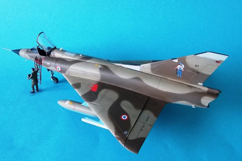 Mirage IIIC 048 Eduard 38 Finished
