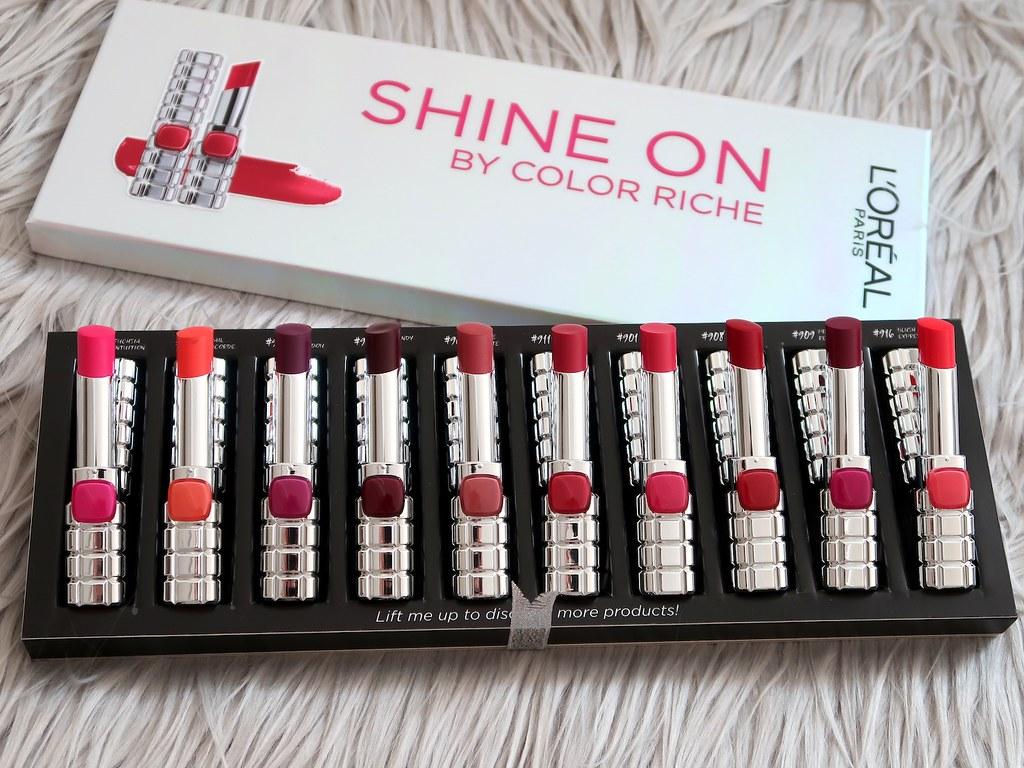 Color Riche Shine Lipsticks