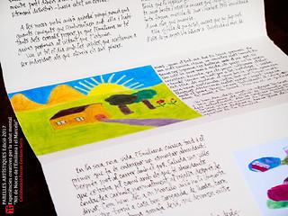 Nit de noces de l'Emiliana i el Marcelo. Llibre per al projecte Parelles Artístiques 2017/2018, col·laboració de Ferran Cerdans Serra.