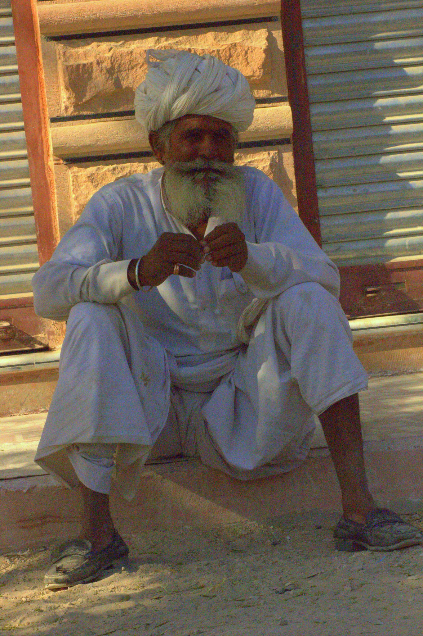 Men in turban of Salawas