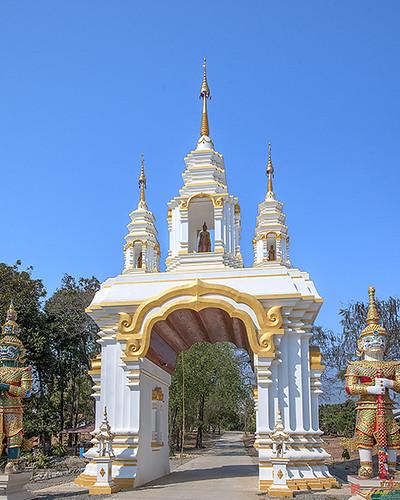 Wat Mongkhon Wari Temple Gate (DTHCM1555) วัดมงคลวารี ประตูวัด