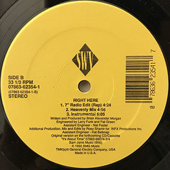 SWV:RIGHT HERE(LABEL SIDE-B)