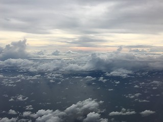 Up in the air - so close to the ocean