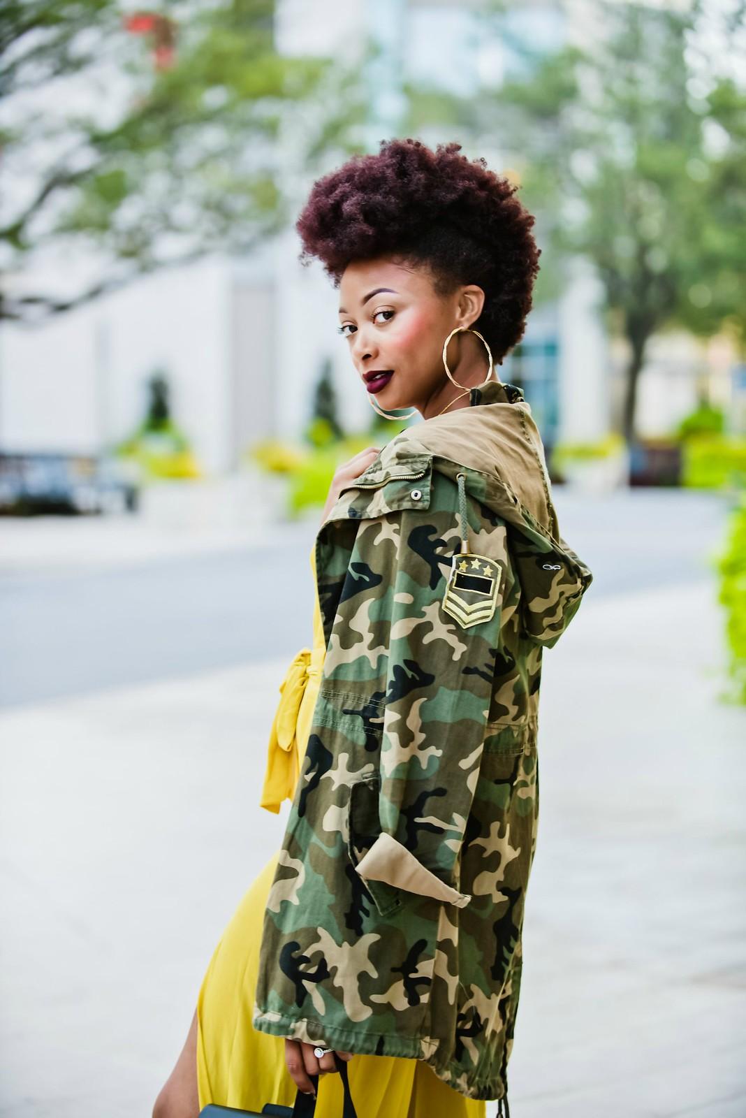 natural hair fashion blogger, candace hampton