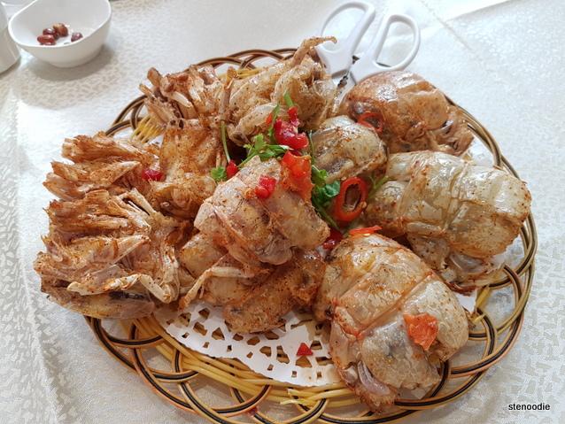 Chuen Kee Seafood Restaurant mantis shrimp