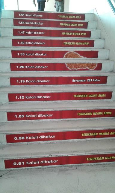 Cholesterol steps