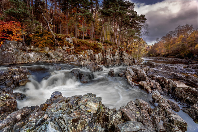 The Linn Of Tummel, Pitlochry, Scotland.