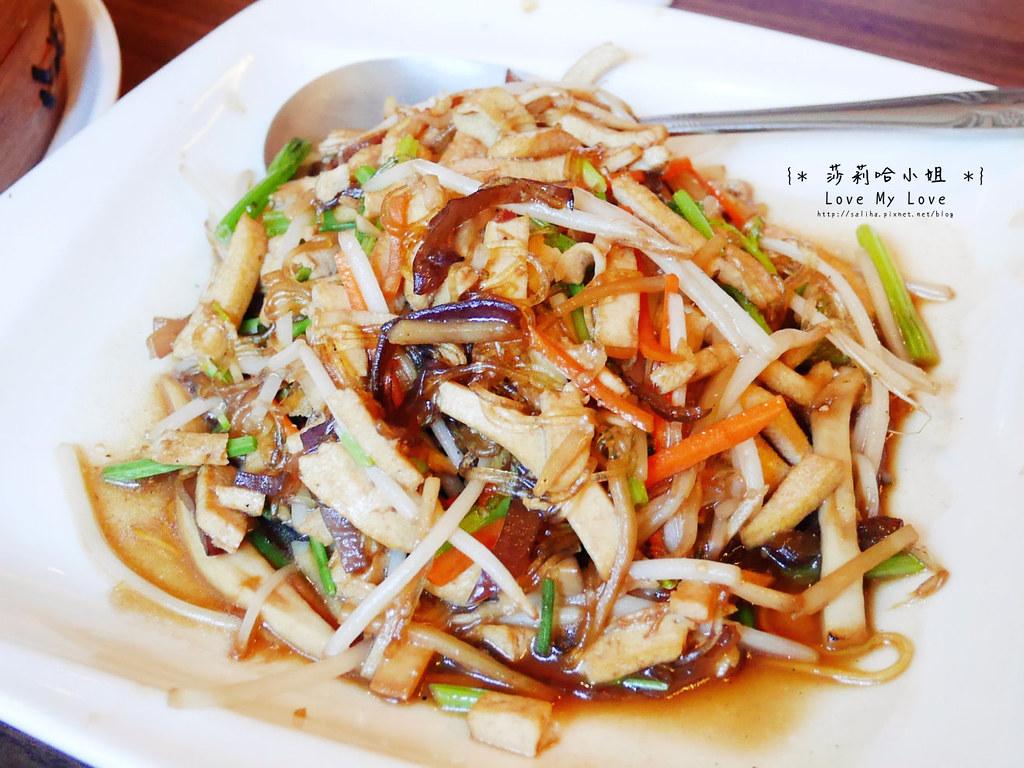 台北士林站好吃素食中式料理餐廳推薦毫光餐飲回田蔬苑 (2)