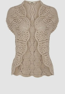 😙💓 very delicate and charming in this crochet jacket I loved this model watch pattern with step by step good night