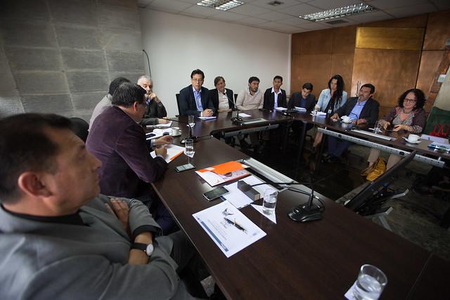 Reunión con ONGs Protección Derechos Niñez y Adolescencia