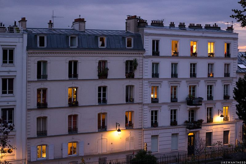Dusk Montmartre