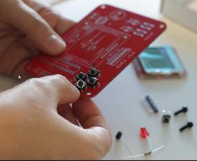 Kitco au Cube : soude ta console Arduino !