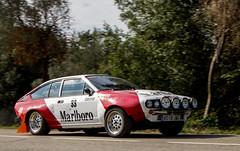 """ALFA ROMEO GTV 6 2500 1.981  MARCELLO BRACCAIOLI """"Els Angels Historic 2.017"""" -8121"""