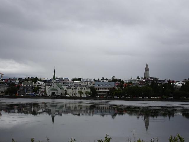 Reykjavik Spires