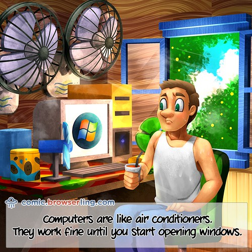 Air Conditioners - Webcomic about web developers, programmers and browsers