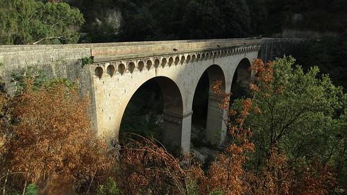 Il viadotto sul torrente Filese