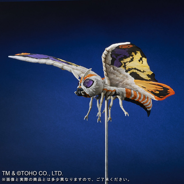 X-PLUS 東寶大怪獸系列《哥吉拉·摩斯拉·王者基多拉 大怪獸總攻擊》 摩斯拉&巴拉剛(モスラ&バラゴン)2001 年版【少年RIC限定】