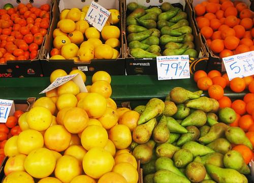 Fruit stall