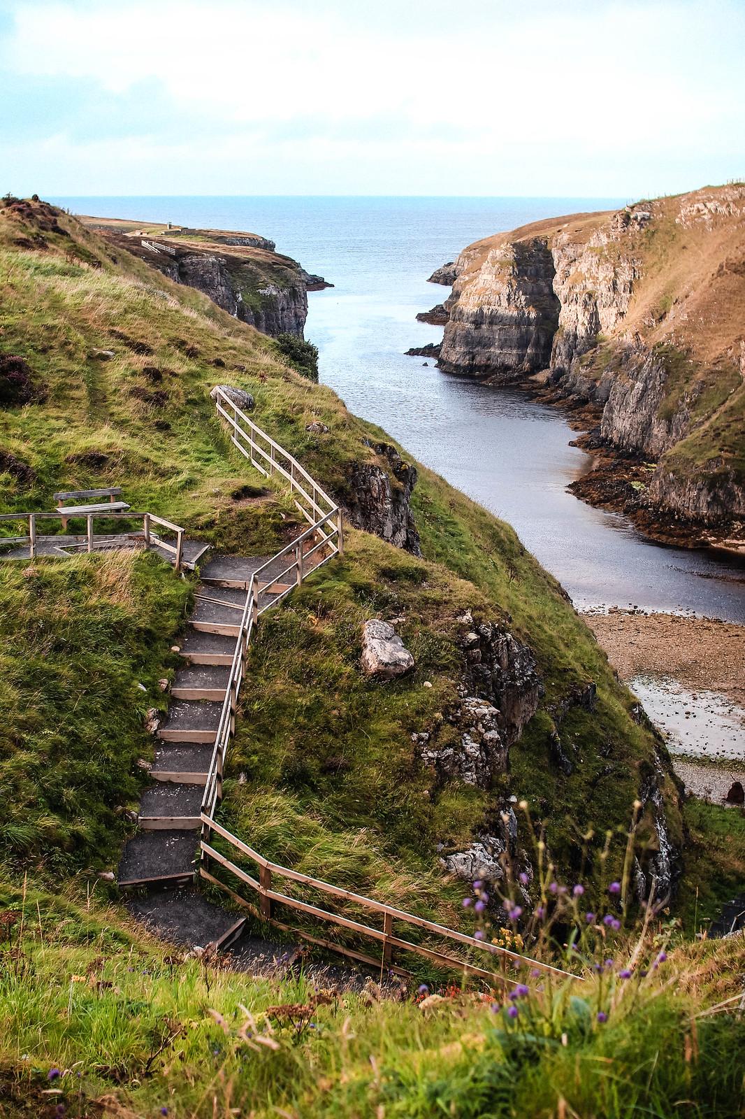 Sango Bay Durness Scotland NC500 travel blogger UK