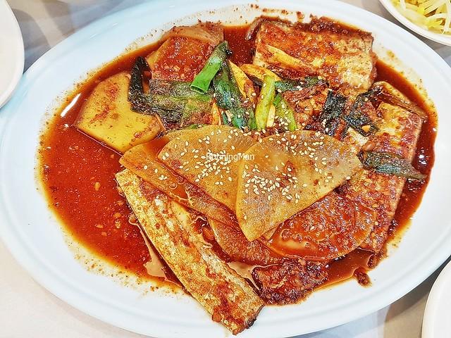 Galchi Jorim / Braised Cutlassfish - Largehead Hairtail Spicy Stew