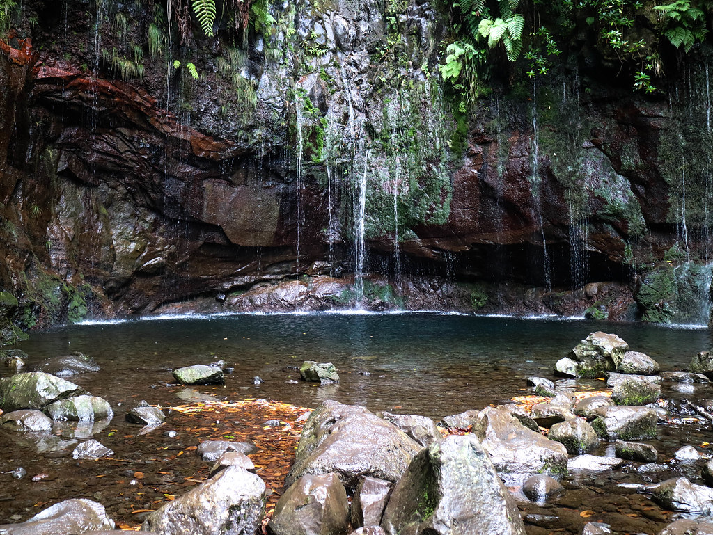Ruta 25 Fontes en Madeira