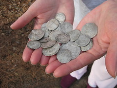 Dancy book Silver coins