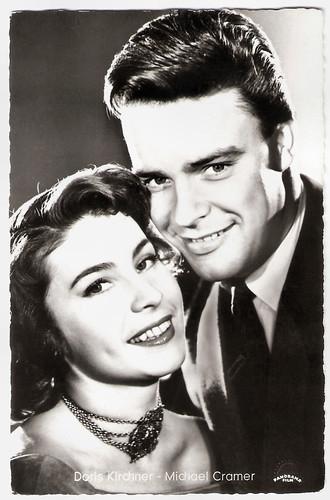 Doris Kirchner and Michael Cramer in Der Jäger von Roteck (1956)