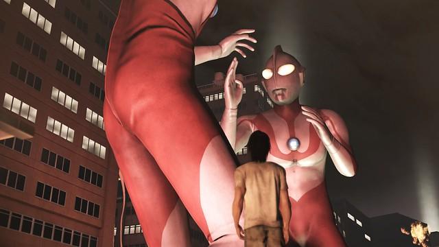 街の影 - ウルトラマン