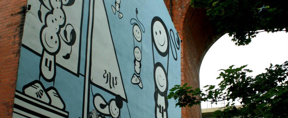 Stedentrip Newcastle: street art in Newcastle | Mooistestedentrips.nl